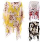 Pullover Sunproof Swimsuit Cover Up Boho Kimono