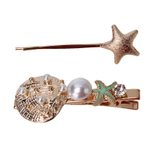Retro Beach Metal Shell Starfish Bohemian