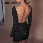 roundneck backless bodycon dress