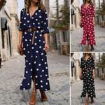 Plus Size Long Maxi Bohemian Party Dress