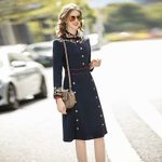 High Quality Workplace Party Casual Vintage Dress