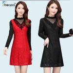 Basic Mini Fashion Long Sleeve Elegant Office Dress