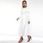 Long Sleeve Office Lady Plus Size Official Dresses