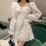 new Girls White Bohemian Mini Dress