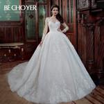 Fashion Appliques Wedding Dress Princess Bride