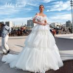 Ruffles Vintage Wedding Dress