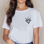 Diamond Tshirt Graphic Printing T-shirt