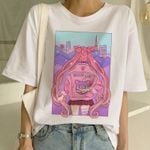 Sailor Moon Fashion T Shirt Short Sleeve