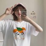 cartoon printing casual small fashion T-shirt