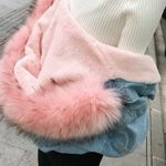 New Thicken Plus Warm Long Sleeve Denim Jacket