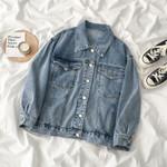 Streetwear Fashion Jacket BF Style Oversize