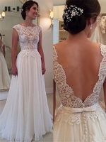 A-Line Princess Wedding Dresses Bridal Gown