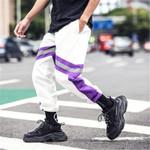Hip Hip Patchwork Harem Pants Joggers Pant