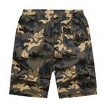 Cotton Shorts Fashion Camouflage Pockets Military