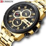 Luxury Brand Stainless Steel Sports Watch