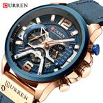 Casual Sport Watches Blue Top Brand Luxury