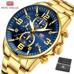 Watches Top Brand Luxury Quartz Clock Calendar Chronograph