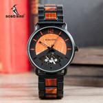 Wood Watches Wristwatch Quartz Clock Wood Box Customize Logo