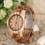 Natural Wooden Watch Handmade Wood Business
