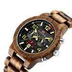 Fashion Business Watch Waterproof Quartz Wood Watch
