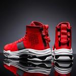 Trainers Hip HOP Shoes Dance Shoes Red Short Boots