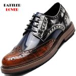 Luxury Brogue Business Office Oxfords Flats Party Shoes
