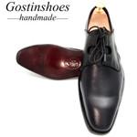 Dress Shoes Ghillie Lacing Black Genuine Leather Formal