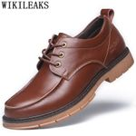 formal shoes genuine leather fashion black office shoes