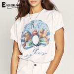 Vintage T-shirts Top Boho Print Gypsy Ethnic Tees Retro