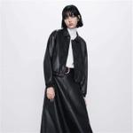 PU Jacket Fashion Faux Leather Jacket Boho Ladies