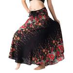 Fashion Flowers Long Hippie Skirt Bohemian Gypsy