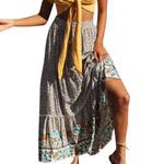 Skirts Fashion Chiffon BOHO Floral Gypsy Long Full Skirt