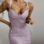 Fashion Crystal Diamond Sparkle Sexy Mini Dresses