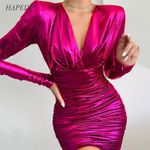 New Bandage Sexy Dress Wrap Party Dresses