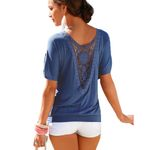 Fashion T Shirt Plus Size Casual 0-Neck Top Tee