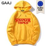 Stranger Things Hoodie Size Harajuku Kawaii Streetwear