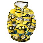 New 3D Printing Cartoon Anime Fashion Boutique Hooded Hoodie