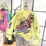 Funny Sweatshirt New Fashion Cartoon Cotton Hoodie