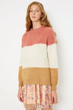 Cotton Purple Sweater