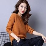 Clothing Fashion New Knitted Bottoming Shirt Long-sleeved