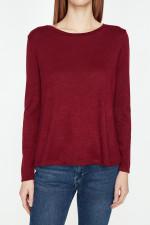 Coton Burgundy Sweater