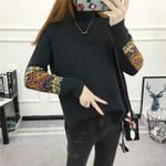 Vintage Turtleneck Sweater Jumpers Long Sleeve