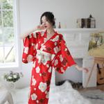 Yukata Kimono Costumes Obi Vintage Haori Dress