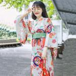 kimono Girls dress traditional kimono yukata Vintage