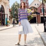 Pleated Skirt Maxi Skirt Long Skirts