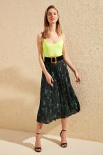 Trendyol Piliseli Skirt