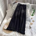 Fashion Pleated Skirt High Waist Midi Skirts