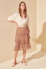 Trendyol Deseli Skirt