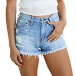 Fitness Denim Ladies Jean Shorts Sexy Jeans