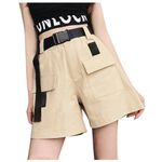 Plus Size High Waist Shorts Sexy Fashion Streetwear